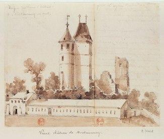 Donjon_du_vieux_Château_de_Montmorency_en_1708