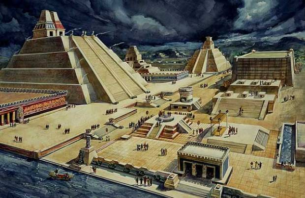 aztec_pyramids_at_tenochtitlan